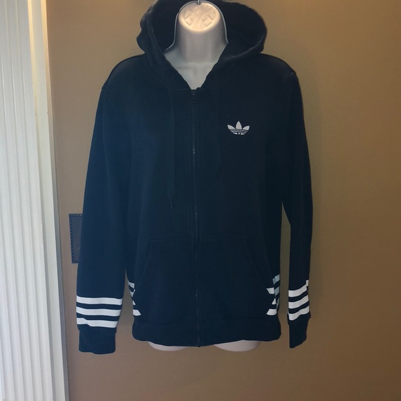 Adidas Tops Originals Zip Up Sweatshirt Poshmark